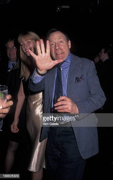 Writer Anthony HadenGuest and date attend 30th Aniversary Party for New York Magazine on April 2 1998 at Studio 54 in New York City