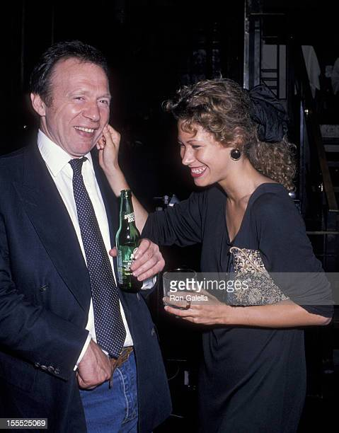 Writer Anthony HadenGuest and guest attend the premiere party for Sex Lies and Videotape on August 1 1989 at the MK Club in New York City