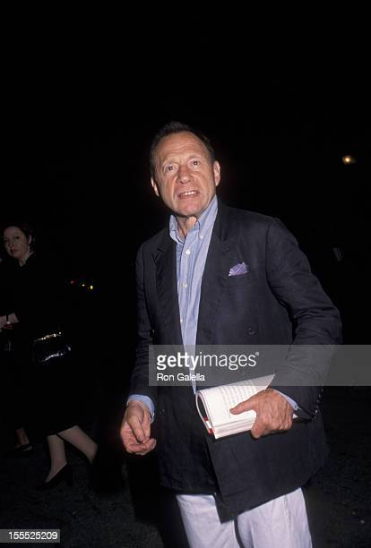 Writer Anthony HadenGuest attends party for Talk Magazine on August 2 1999 at Liberty Island in New York City