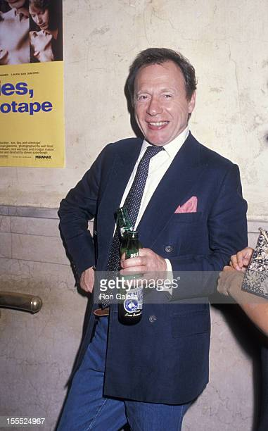 Writer Anthony HadenGuest attends the premiere party for Sex Lies and Videotape on August 1 1989 at the MK Club in New York City