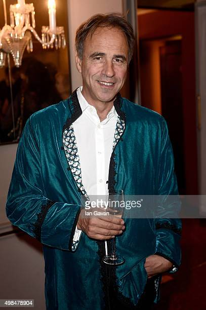 Writer Anthony Horowitz attends the National Youth Theatre fundraiser at Bloomsbury Hotel on November 23 2015 in London England