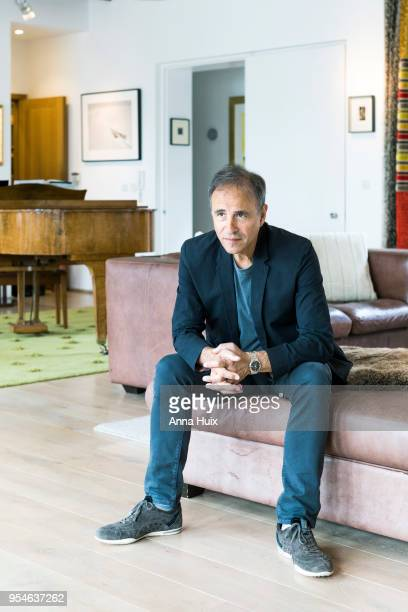 Writer Anthony Horowitz is photographed for the New York Times on May 31 2017 in London England
