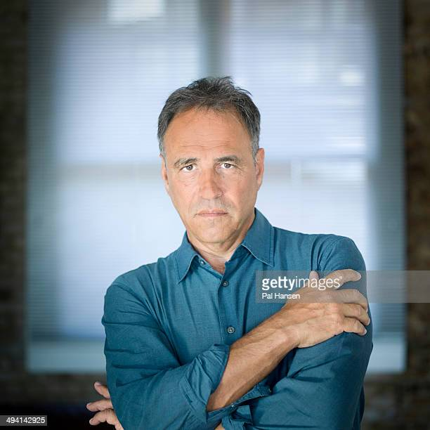 Writer Anthony Horowitz is photographed for the Observer on September 2 2013 in London England