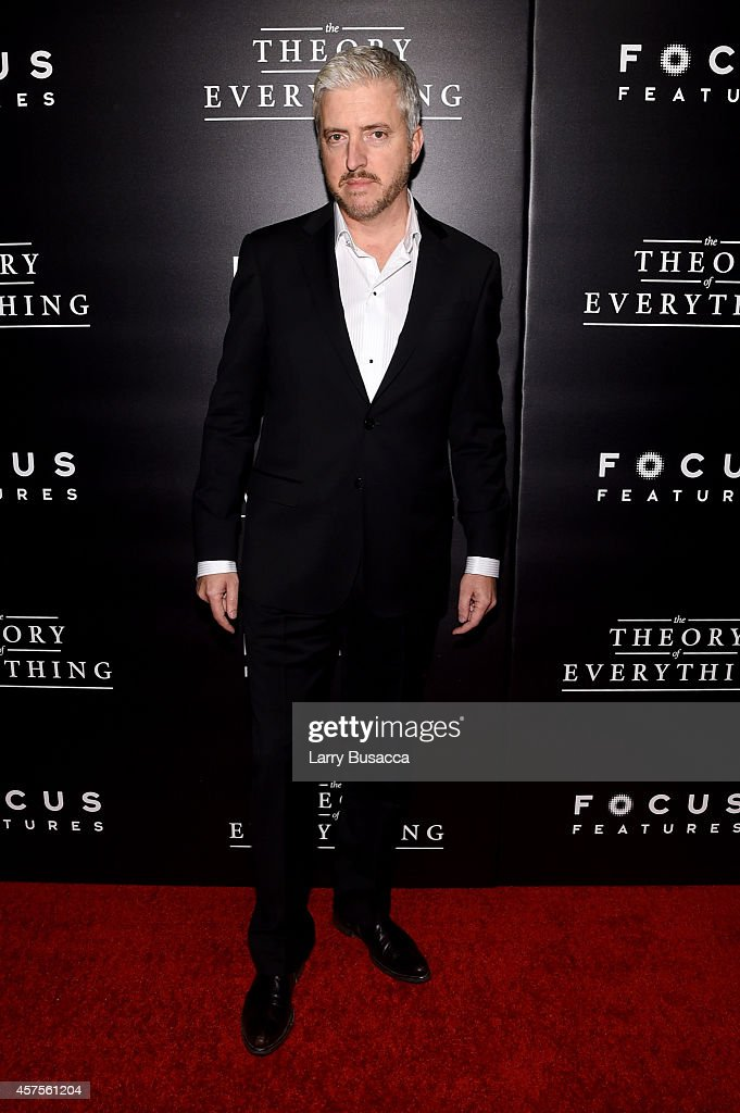 Writer Anthony McCarten attends 'The Theory Of Everything' New York Premiere at Museum of Modern Art on October 20, 2014 in New York City.