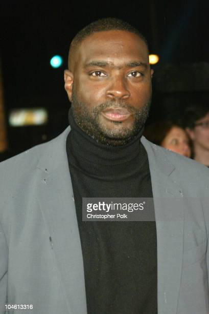 Writer Antwone Fisher during AFI Fest Opening Night Gala Screening of Fox Searchlight's Antwone Fisher at Cinerama Dome in Hollywood CA United States