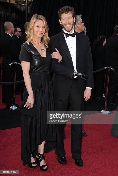 Writer Aron Ralston and wife Jessica Trusty arrive at the 83rd Annual Academy Awards held at the Kodak Theatre on February 27 2011 in Hollywood...