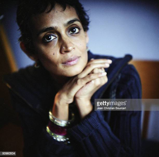Writer Arundhati Roy poses January 23 2004 in New York Arundhati Roy's most famous book is 'The God of Small Things'