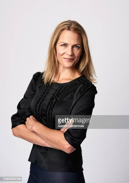 Writer Asne Seierstad from the film '22 July' poses for a portrait during the 2018 Toronto International Film Festival at Intercontinental Hotel on...