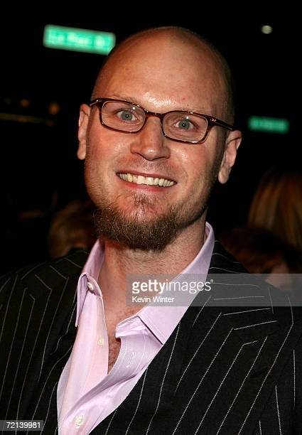 Writer Augusten Burroughs arrives at the world premiere of Tristar Picture's Running With Scissors at the Academy of Motion Picture Arts Sciences...