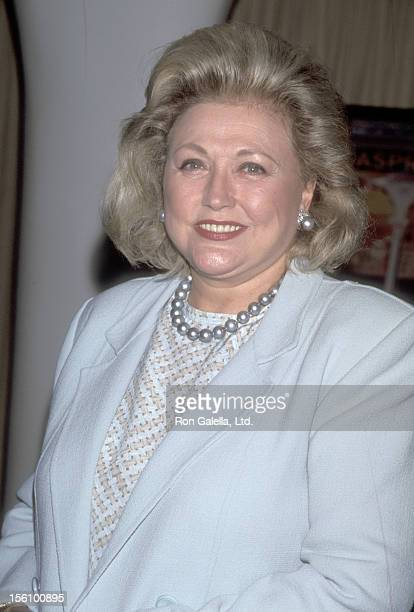 Writer Barbara Taylor Bradford attends The Walpole Committee's First Annual Award for British Excellence on September 9 1998 at Queen Elizabeth 2 New...
