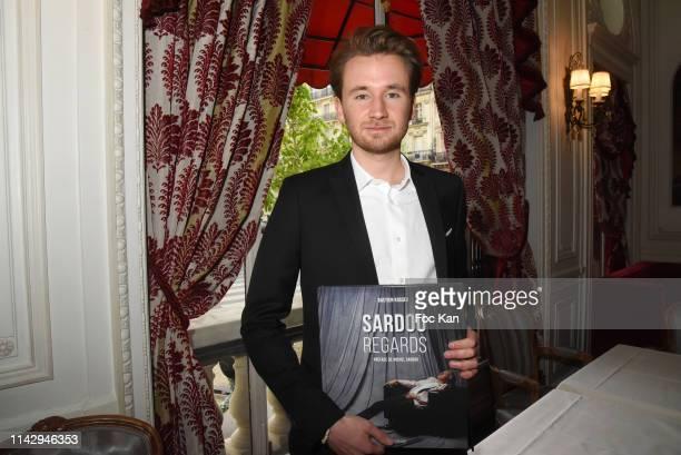 "Writer Bastien Kossek attends ""Sardou Regards"" Bastien Kossek's Book Launch at Hotel Raphael on April 15, 2019 in Paris, France."