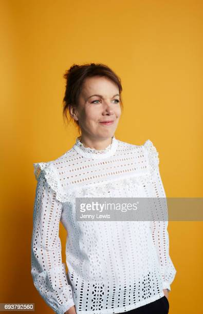 Writer Bella Bathurst is photographed for Grazia on April 4, 2017 in London, England.