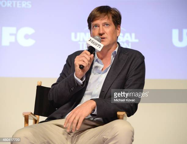 Writer Bill Lawrence participates in Variety's A Night in the Writers' Room at Writer's Guild Theater on June 10 2014 in Los Angeles California