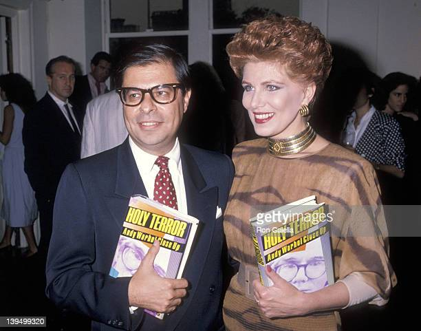 Writer Bob Colacello and cosmetic entrepreneur Georgette Mosbacher attend the Party to Celebrate Bob Colacello's Book 'Holy Terror Andy Warhol Close...