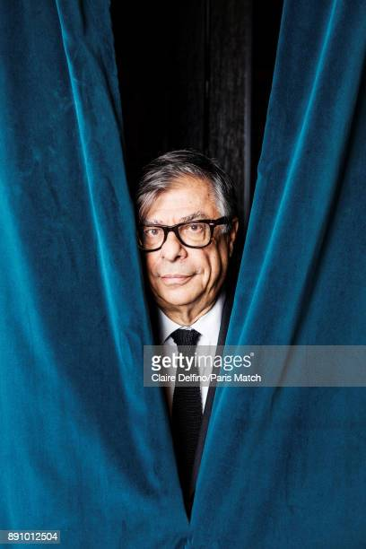 Writer Bob Colacello is photographed for Paris Match on November 22 2017 in Paris France