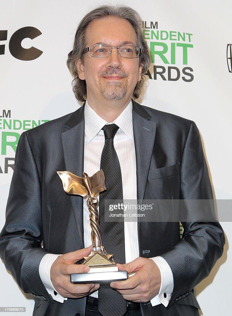 2014 Film Independent Spirit Awards - Press Room : News Photo