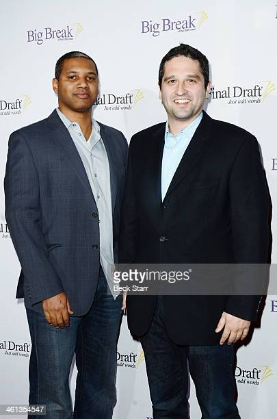 Writer Brandon Sonnier and Brandon Margolis arrive at Final Draft Annual Awards presenting The Hall Of Fame Screenwriters Choice Awards and Big Break...