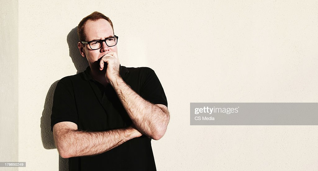 Bret Easton Ellis, Portrait shoot, February 22, 2013