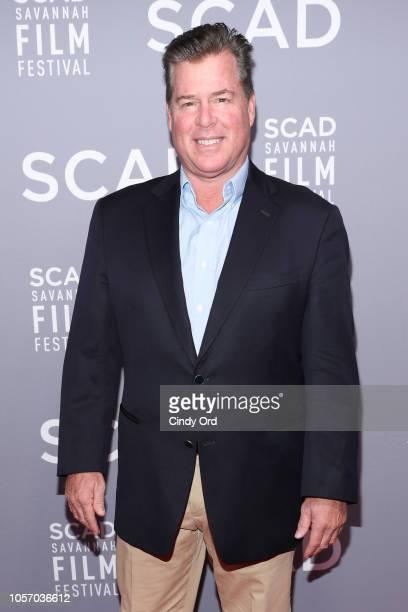 Writer Brian Hayes Currie attends the 21st SCAD Savannah Film Festival on November 3 2018 in Savannah Georgia