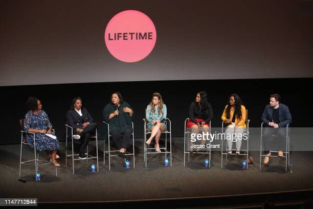 Writer Britni Danielle SVP Unscripted Development and Programming Lifetime Brie Miranda Bryant executive producer/showrunner dream hampton Lizzette...