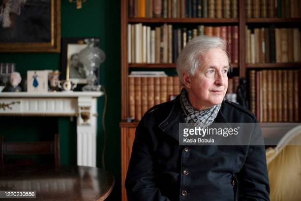 Writer broadcaster and journalist Hugo Vickers is photographed for WWD on March 11 2020 in London England