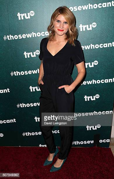 Writer Brooke van Poppelen attends the premiere of truTV's Those Who Can't at The Wilshire Ebell Theatre on January 28 2016 in Los Angeles California
