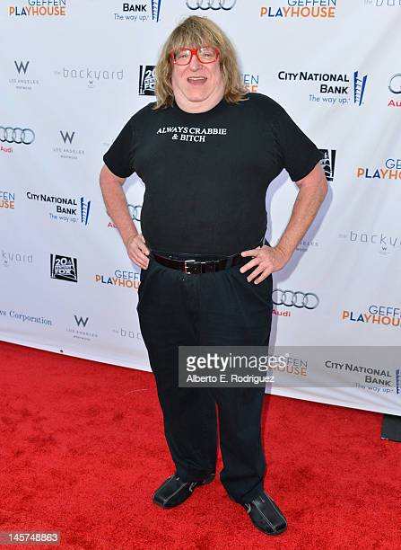 Writer Bruce Vilanch arrives to the Geffen Playhouse's Annual 'Backstage at the Geffen' Gala at Geffen Playhouse on June 4 2012 in Los Angeles...