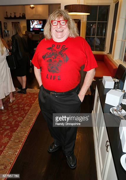 Writer Bruce Vilanch attends Russell Simmons' Rush Philanthropic Arts Foundation's inaugural Art For Life Los Angeles at Private Residence on May 3...