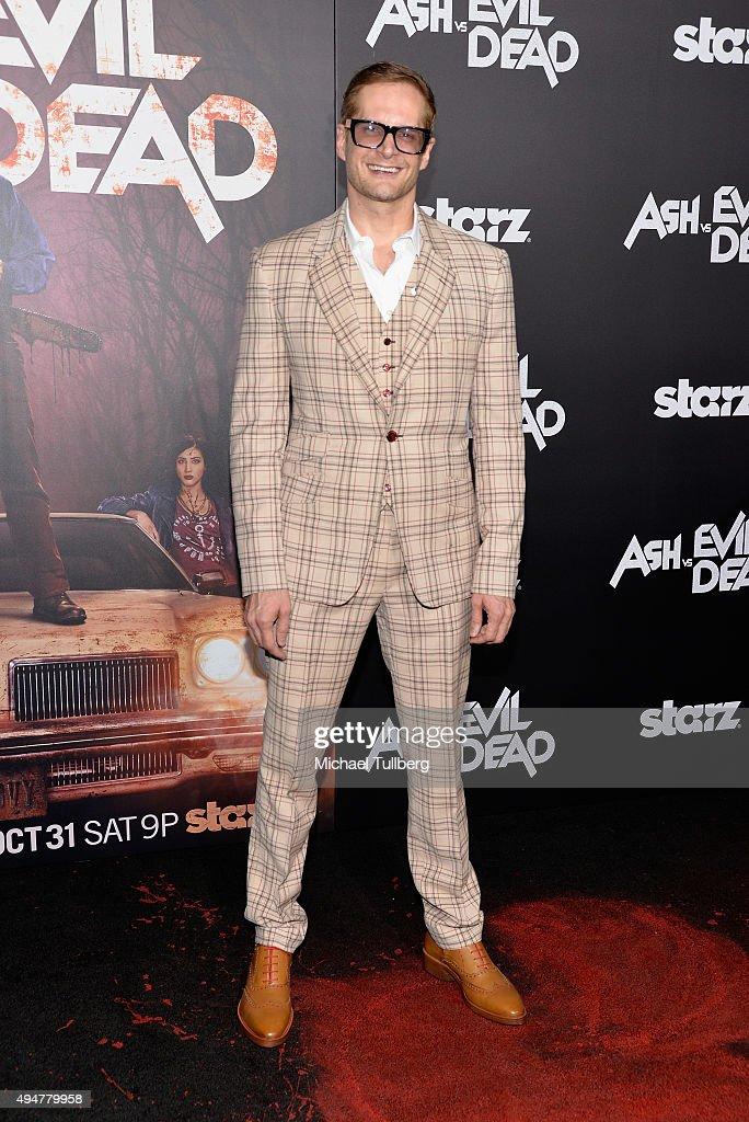Writer Bryan Fuller attends the premiere of STARZ's 'Ash vs Evil Dead' at TCL Chinese Theatre on October 28, 2015 in Hollywood, California.
