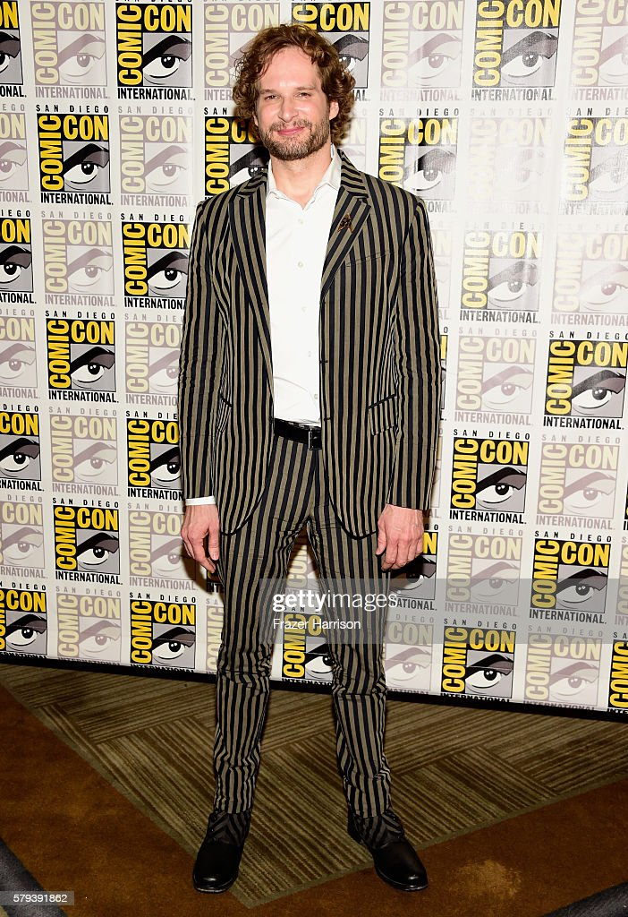 Writer Bryan Fuller attends the 'Star Trek 50' press line during Comic-Con International on July 23, 2016 in San Diego, California.