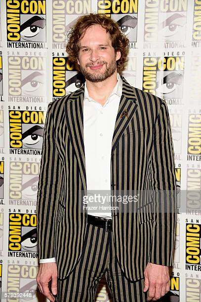 Writer Bryan Fuller attends the 'Star Trek 50' press line during ComicCon International on July 23 2016 in San Diego California