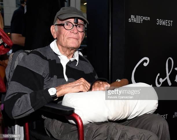 Writer Buck Henry arrives to the premiere of Bleecker Street Media's Colette at Samuel Goldwyn Theater on September 14 2018 in Beverly Hills...