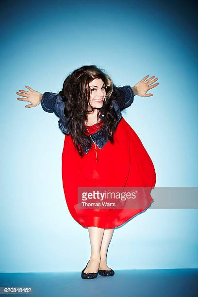 Writer Caitlin Moran is photographed for Cosmopolitan magazine on September 20 2011 in London England