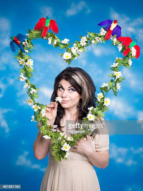 Writer Caitlin Moran is photographed for the Guardian on June 3 2014 in London England