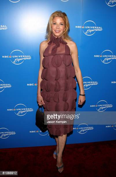 Writer Candace Bushnell attends the NBC Universal Experience at Rockefeller Center on May 12 2008 in New York City