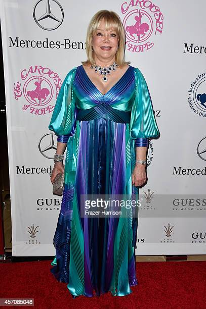Writer Candy Spelling attends the 2014 Carousel of Hope Ball presented by MercedesBenz at The Beverly Hilton Hotel on October 11 2014 in Beverly...