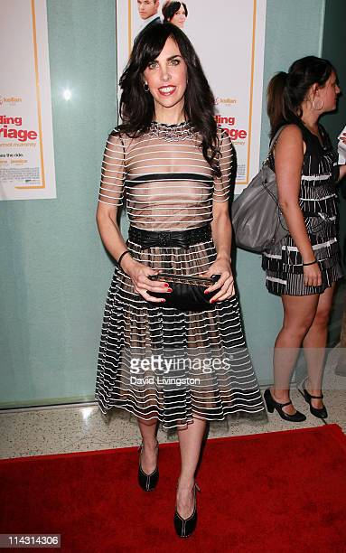 Writer Caprice Crane attends the premiere of IFC Films' Love Wedding Marriage at the Pacific Design Center on May 17 2011 in Los Angeles California