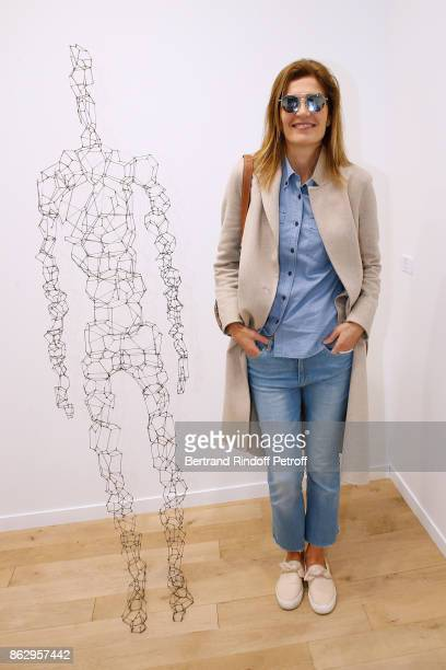 Writer Capucine Motte attends the FIAC 2017 International Contemporary Art Fair Press Preview at Le Grand Palais on October 18 2017 in Paris France