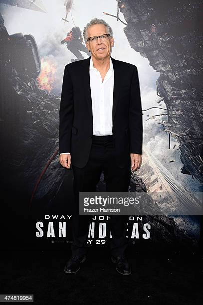 Writer Carlton Cuse attends the premiere of Warner Bros Pictures' 'San Andreas' at the TCL Chinese Theatre on May 26 2015 in Hollywood California