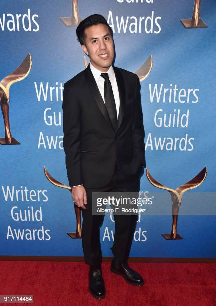 Writer Cas Ruffin attends the 2018 Writers Guild Awards LA Ceremony at The Beverly Hilton Hotel on February 11 2018 in Beverly Hills California