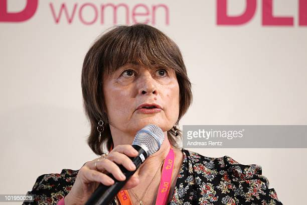 Writer Catherine Millet attends the Digital Life Design women conference at the Centre for New Technologies at Deutsches Museum on June 10 2010 in...