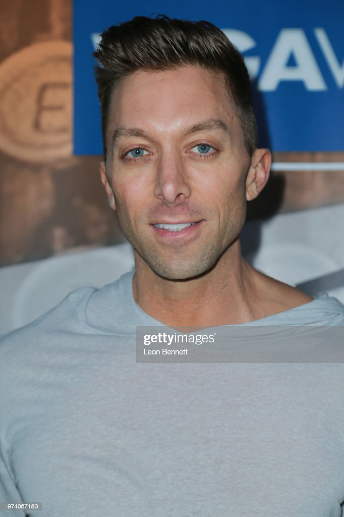 Writer Chad Hodge attends Writers Guild Of America West Hosts Behind The Screen Summer 2018 Reception at The Roof On Wilshire on June 13, 2018 in Los Angeles, California.