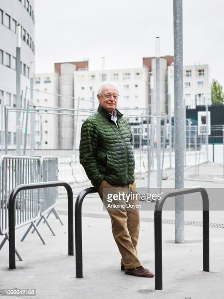 Writer Charles Gave poses for a portrait on October 22 2018 in Paris France