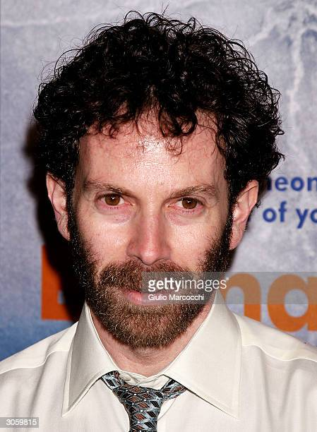 Writer Charlie Kaufman arrives at the world premiere of Focus Feature's Eternal Sunshine Of The Spotless Mind on March 9 2004 at the Samuel Goldwyn...