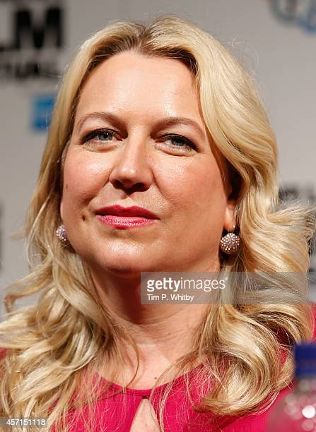 Writer Cheryl Strayed attends the press conference of Wild during the 58th BFI London Film Festival at The Mayfair Hotel on October 13 2014 in London...