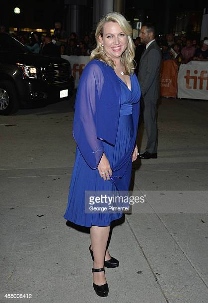 Writer Cheryl Strayed attends the Wild premiere during the 2014 Toronto International Film Festival at Roy Thomson Hall on September 8 2014 in...