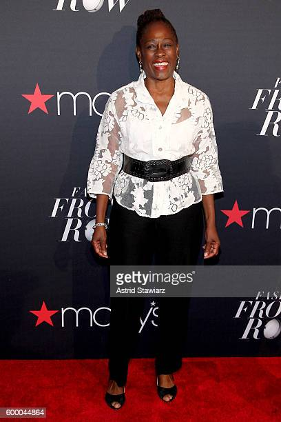 Writer Chirlane McCray attends Macy's Presents Fashion's Front Row on September 7 2016 in New York City