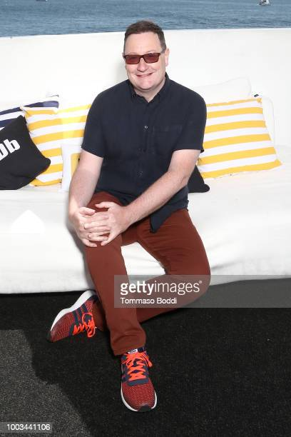 Writer Chris Chibnall attends the #IMDboat At San Diego ComicCon 2018 Day Three at The IMDb Yacht on July 21 2018 in San Diego California