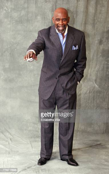 Writer Chris Gardner attends the 'Pursuit Of Happyness' photocall at the Hotel Excelsior on January 11 2007 in Rome Italy