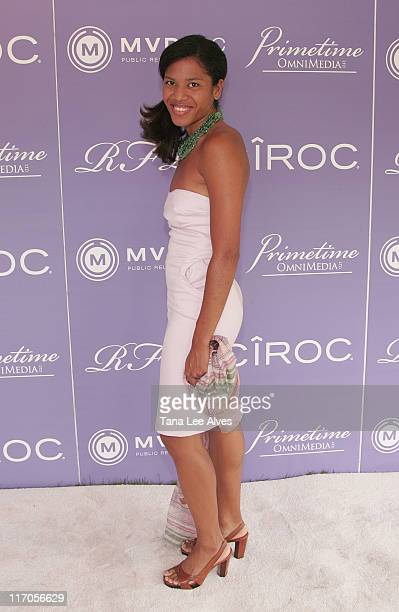 Writer Christina Lewis attends Celebrating The Legacy Of Business Icon Reginald F. Lewis at the estate of Loida Lewis July 4, 2008 in Sag Harbor, New...